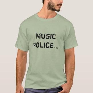 音楽警察 Tシャツ