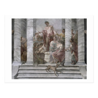 音楽部屋(フレスコ画) (および詳細60260) ポストカード
