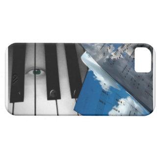 音楽電話箱のための目 iPhone SE/5/5s ケース