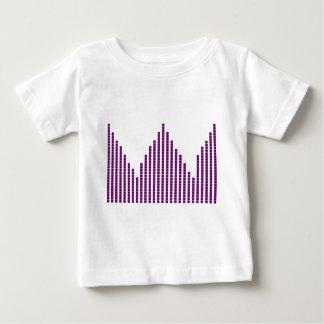 音楽音声スペクトル ベビーTシャツ
