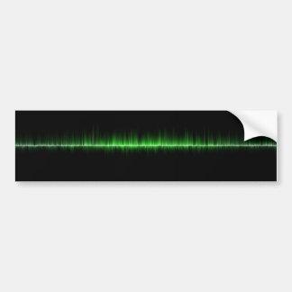 音楽音波科学の容積 バンパーステッカー