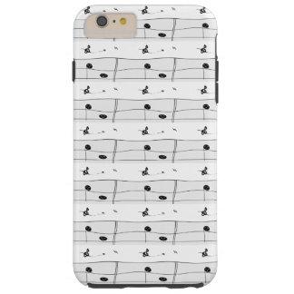 音楽音符のミュージシャンのデザインCricketDiane Tough iPhone 6 Plus ケース