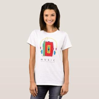 音楽|カセットプレーヤー|のウォークマンのTシャツ Tシャツ
