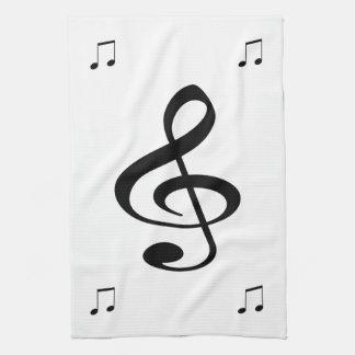 音楽 キッチンタオル