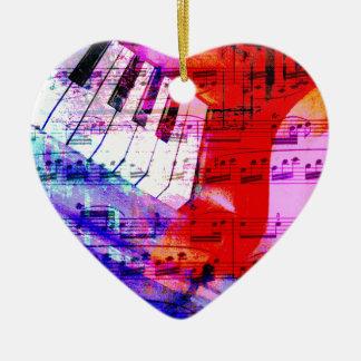 音楽、ピアノ装飾(11) セラミックオーナメント