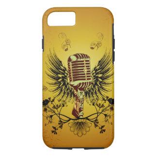 音楽、マイクロフォン iPhone 8/7ケース