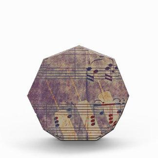 音楽、ヴィンテージの一見B 表彰盾