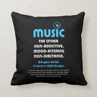 音楽: 他の非習慣性、…気分変わります クッション