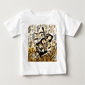 音楽、石Gold_の旅行 ベビーTシャツ