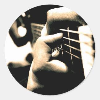 音楽: 私の情熱 ラウンドシール