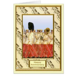 音楽、管楽器のロマンス カード