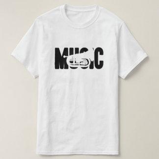 音楽(行進のバリトン歌手) Tシャツ