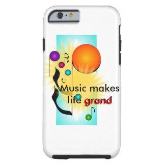 音楽iPhoneのミュージシャンのギフトのミュージカルのおもしろい ケース