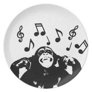 音楽monkeymonkey プレート
