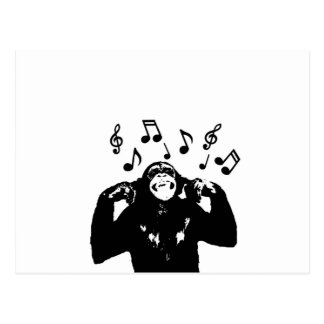 音楽monkeymonkey 葉書き