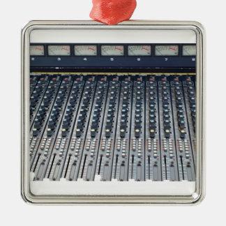 音楽soundboardのサウンド・ボードのミキサー メタルオーナメント