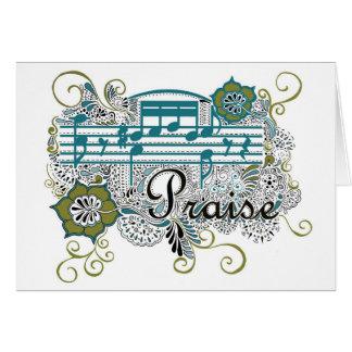 音符との賞賛 カード