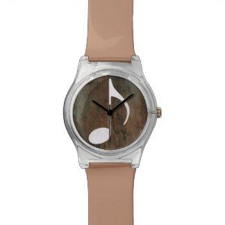 音符のシンプルのグラフィック 腕時計