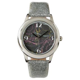 音符のノベルティの腕時計 腕時計