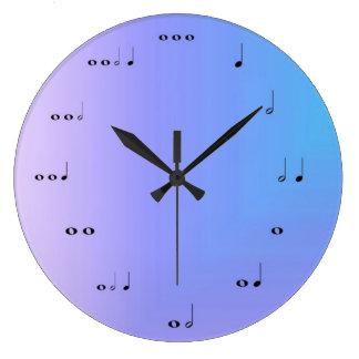 音符の時計 ラージ壁時計