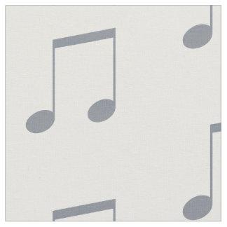 音符パターン ファブリック