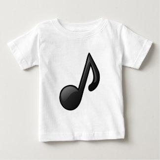 音符 ベビーTシャツ