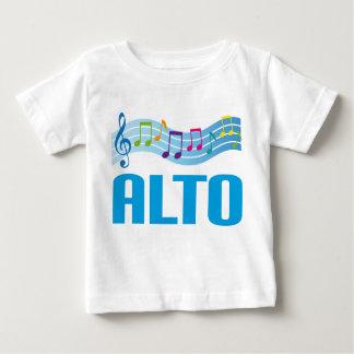 音符ALTO歌手の聖歌隊のギフト ベビーTシャツ