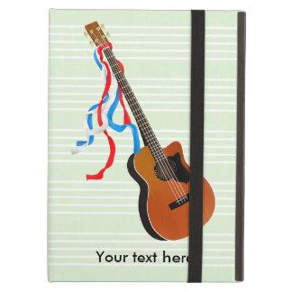 音響のベースギターのアメリカ人音楽 iPad AIRケース