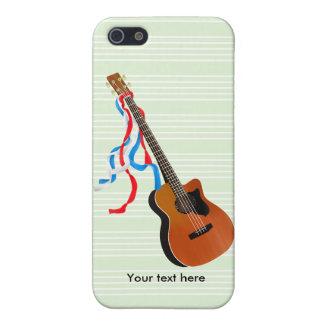 音響のベースギターのアメリカ人音楽 iPhone 5 カバー