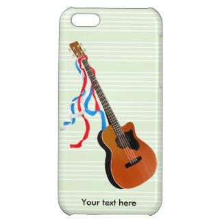 音響のベースギターのアメリカ人音楽 iPhone 5C CASE