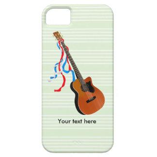 音響のベースギターのアメリカ人音楽 iPhone SE/5/5s ケース