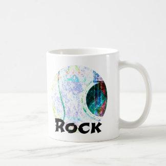 音響の石灰水の石 コーヒーマグカップ