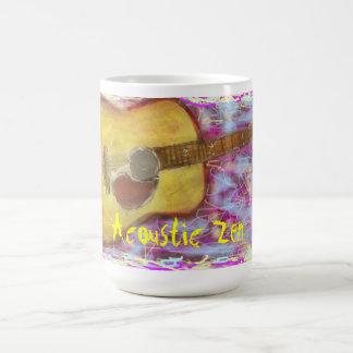 音響の禅のギター コーヒーマグカップ