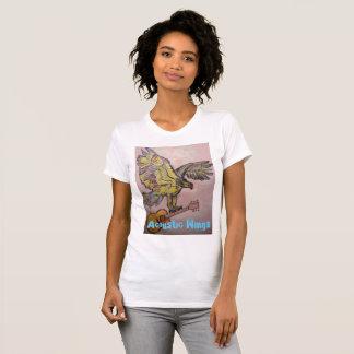 音響の翼の魚タカ Tシャツ