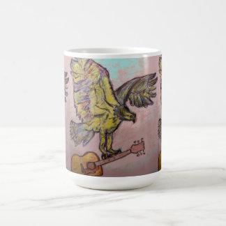 音響の魚タカ コーヒーマグカップ