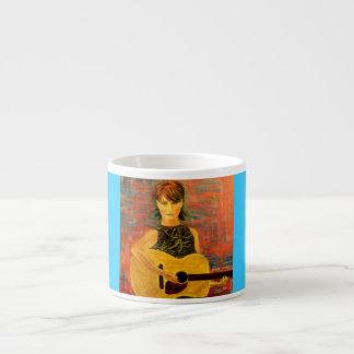 音響のfolksingerの女の子 エスプレッソカップ