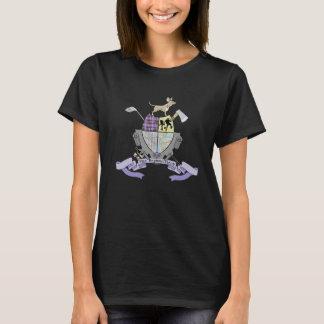 頂上の女性のT Tシャツ