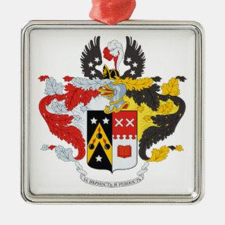 /頂上Andreev家族の紋章付き外衣 メタルオーナメント