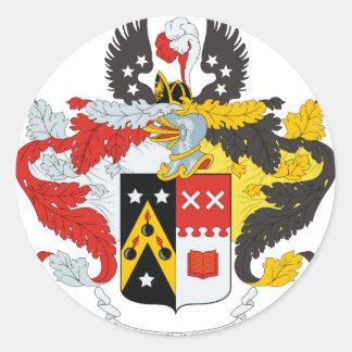 /頂上Andreev家族の紋章付き外衣 ラウンドシール