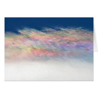 頂点に達する波状雲 カード