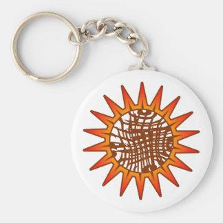 順序および無秩序日曜日Keychain キーホルダー