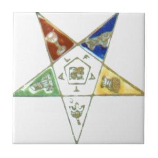 順序の東の星 正方形タイル小