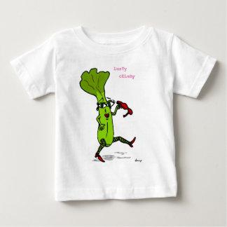 頑健なセロリのワイシャツ ベビーTシャツ