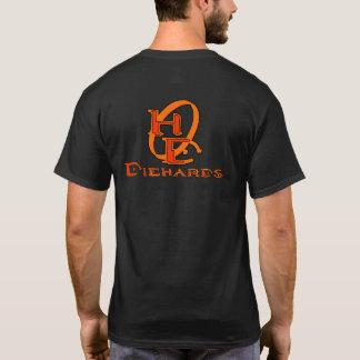 頑固な保守主義者のゲーマーのグラフィックの背部 Tシャツ