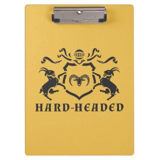 頑固なHeraldicラムのクリップボード クリップボード