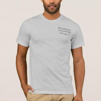 頑固者の銀製のTシャツ Tシャツ