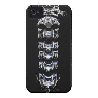 頚部椎骨4 Case-Mate iPhone 4 ケース
