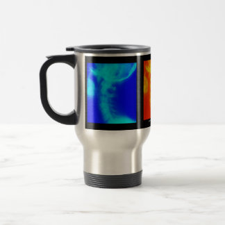 頚部X線のカイロプラクティック旅行コーヒーカップ トラベルマグ