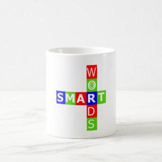 頭が切れるな単語のロゴのマグ コーヒーマグカップ