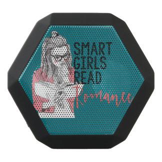 頭が切れるな女の子はロマンスブームの馬蝿の幼虫のレックスを読みました ブラックBluetoothスピーカー